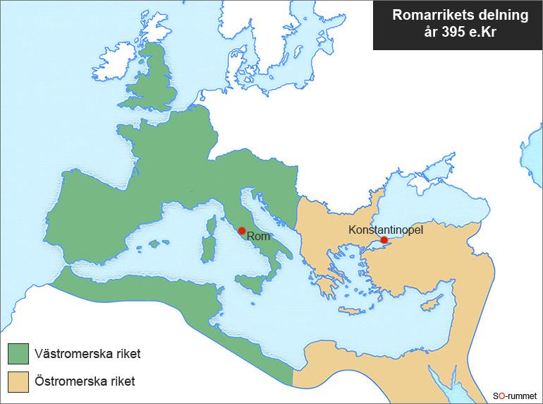 Gammal Karta Italien.Romarriket Forntiden Och Antiken Historia So Rummet