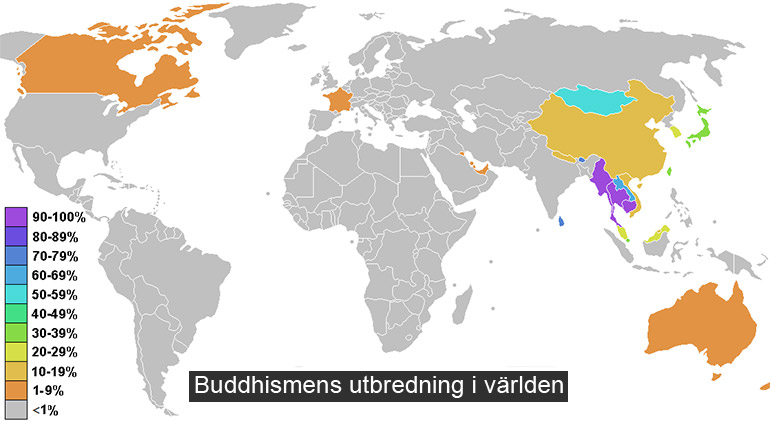 Buddhismen Religion So Rummet