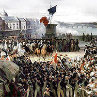 Frankrike vill ha ekonomiskt stod till krig