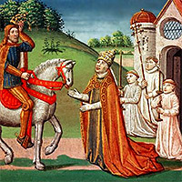 Kyrkan och klostren på medeltiden
