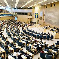 Politiska partier i Sveriges riksdag