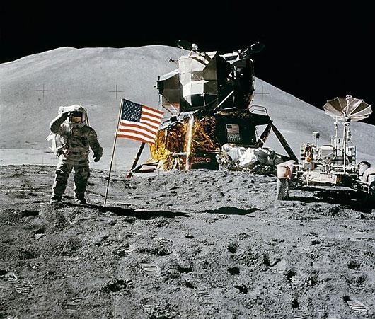 första månlandningen