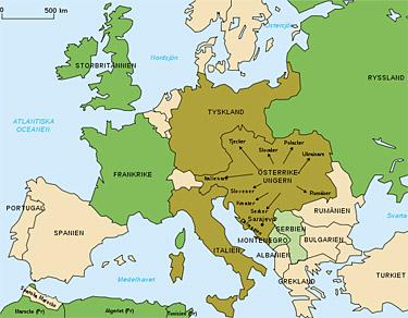 Var Forsta Varldskriget Oundvikligt Historia So Rummet