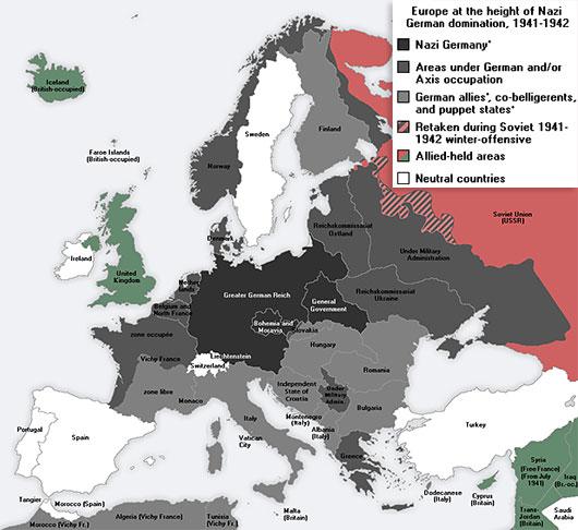 Tyskland Andra Varldskriget Karta Karta 2020