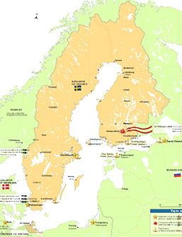 sverige och finland karta Sverige förlorar Finland | Det långa 1800 talet | Historia | SO rummet sverige och finland karta