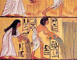 forntida egypten kläder