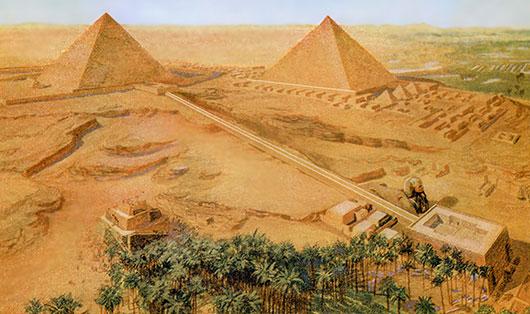 Jordbruk och pyramidbyggen i forntidens Egypten | Historia | SO-rummet