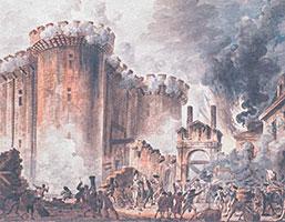 Stormningen Av Bastiljen Inledningen Pa Franska Revolutionen Historia So Rummet
