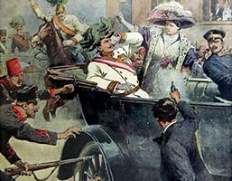 Skotten i sarajevo startade kriget