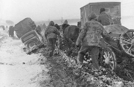Ryssarna besegrade tyskarna fore dagen d